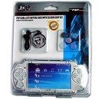PSP Slim & Lite Crystal Case with Silicon Grip Kit (black/blue/white) (BH-PSP02620)