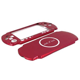 PSP 3000 Ultra Slim Aluminum Case (red)