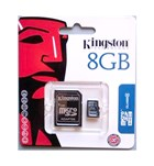 Карта памяти Kingston micro SDHC 8GB (SDC4/8GB)