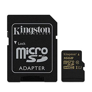 Карта памяти Kingston micro SDHC 16GB class 10 UHS-I (SDCA10/16GB)
