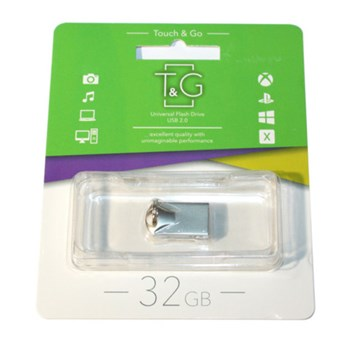 FLASH USB DRIVE T&G 106 Metal series 32GB