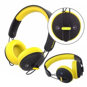 Наушники AWEI A800 BT Black-yellow