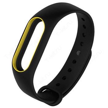 Браслет XIAOMI BAND 2 black/yellow