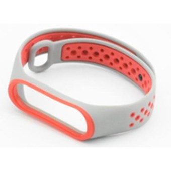 Браслет XIAOMI BAND 3 white & red Nike Design