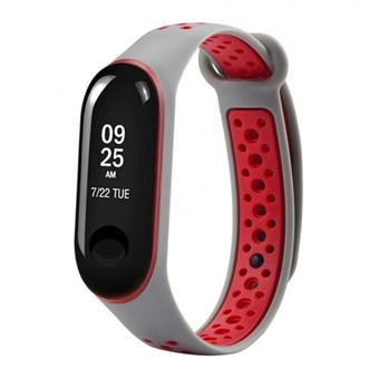 Браслет XIAOMI BAND 3 gray & red Nike Design