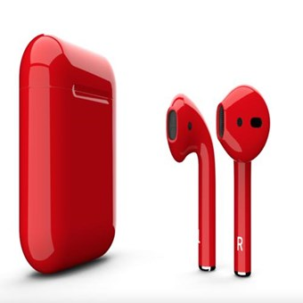 Наушники AIRPODS TWS I9S red