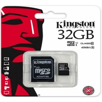 Карта памяти KINGSTON microSDHC UHS-1 80R 32GB class 10