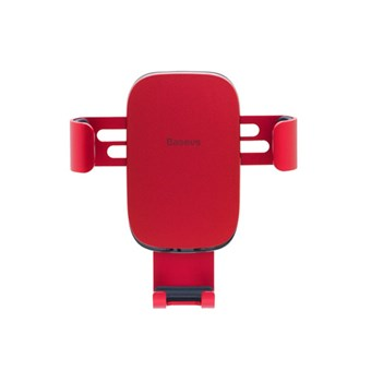 Автодержатель BASEUS  Gravity car Mount red